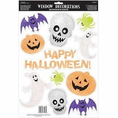 Наклейки на окно Хэллоуин