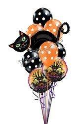 Букет из шаров кошка
