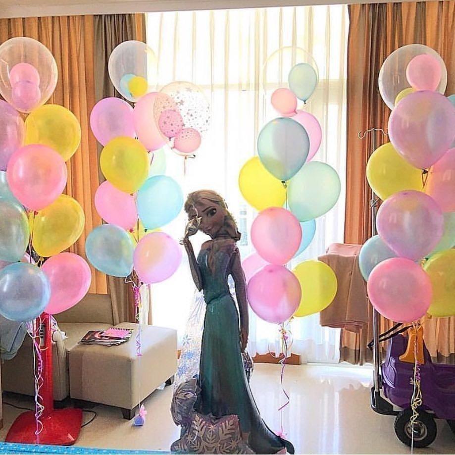Украшение для зала на день рождения своими руками