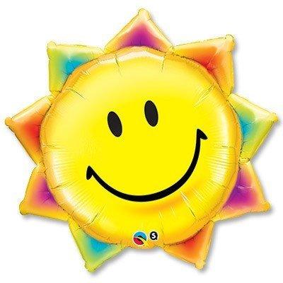 Шар П фигура Улыбка солнце