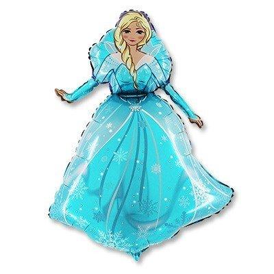 Шар фигура Ледяная Принцесса