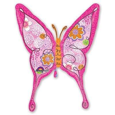 Шар фигура Бабочка Цветочная