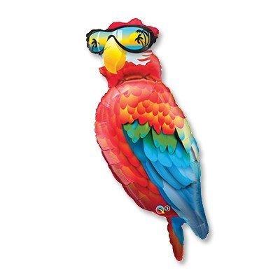 Шар-фигура Попугай в очках