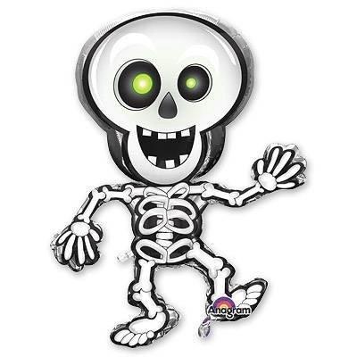 Шар-фигура Скелет танцующий