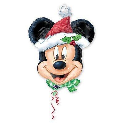 Шар фигура Новый год Микки Санта