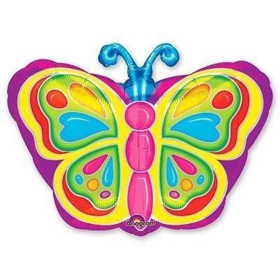 Шар фигура Бабочка яркая 2