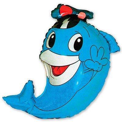 Шар фигура Дельфин капитан
