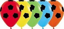 Облако шаров Футбольный мяч 25 шт