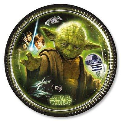 Тарелки малые Звездные Войны Герои, 8 шт
