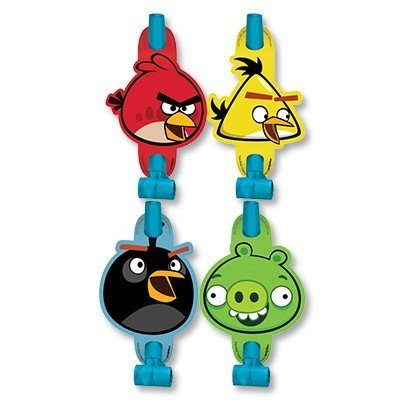 Языки-гудки Angry Birds, 8 штук