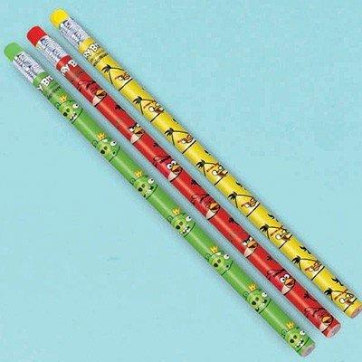 Карандаши простые Angry Birds, 12 штук