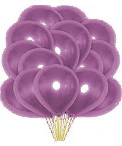 Облако фиолетовых перламутровых шаров 25шт
