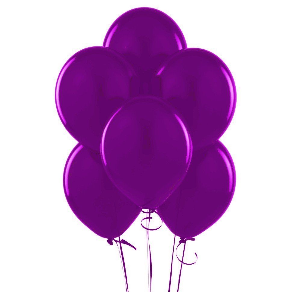 Облако Фиолетовые шары 30 шт