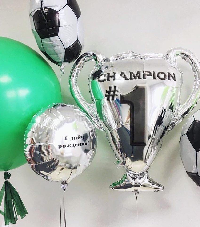Поздравление маленькому чемпиону