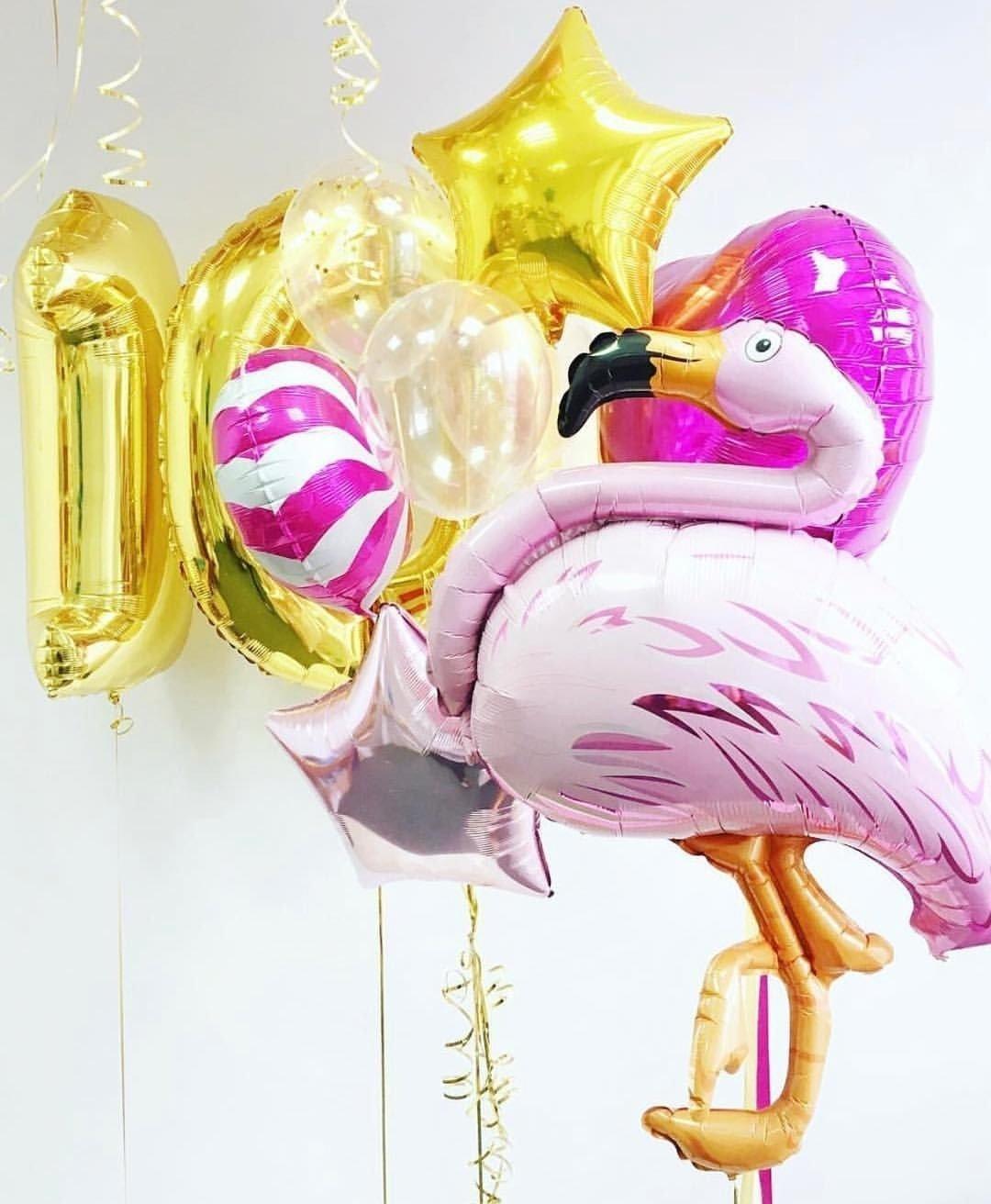 Готовое решение Чудесный день с Фламинго