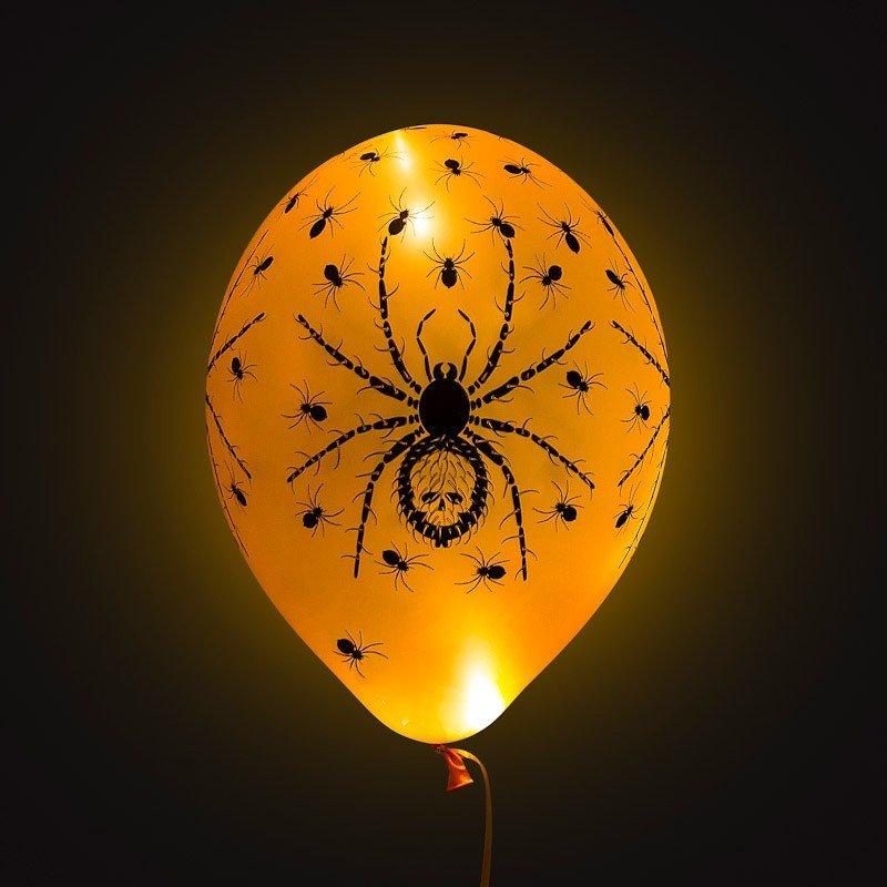 Светящиеся шарики Хэллоуин 25 шт