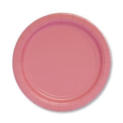 Тарелки нежно-розовые, 17 см