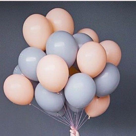 Облако шаров Пастель пудровый 25 шт