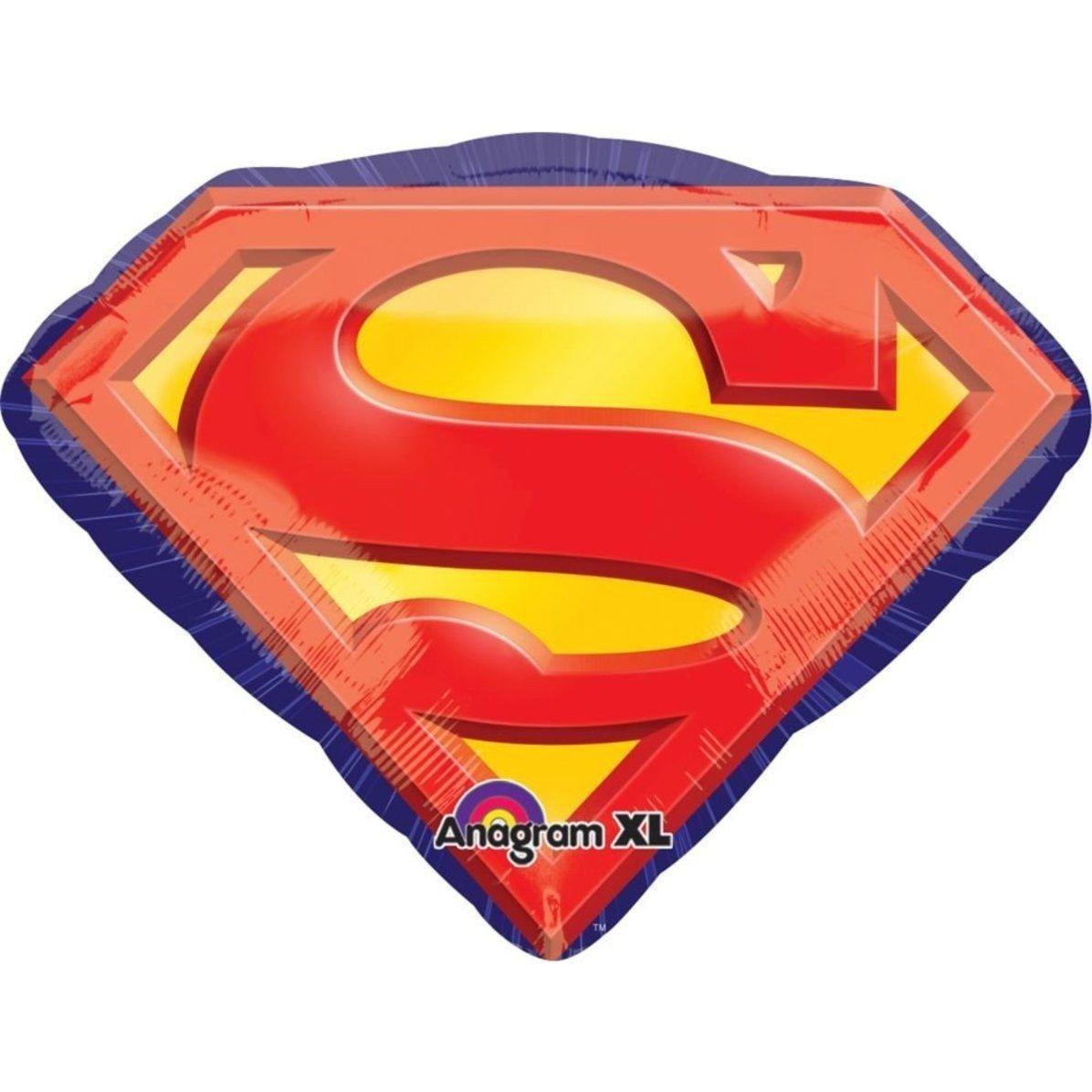Шар фигура Супермен эмблема