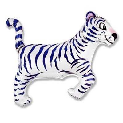 Шар фигура Тигр белый