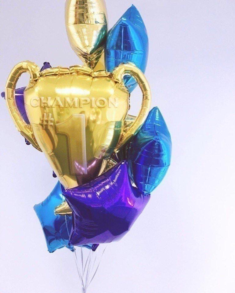Букет из шаров Чемпион