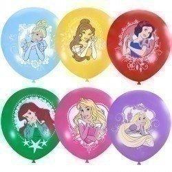 Облако из шаров Принцессы 50 шт