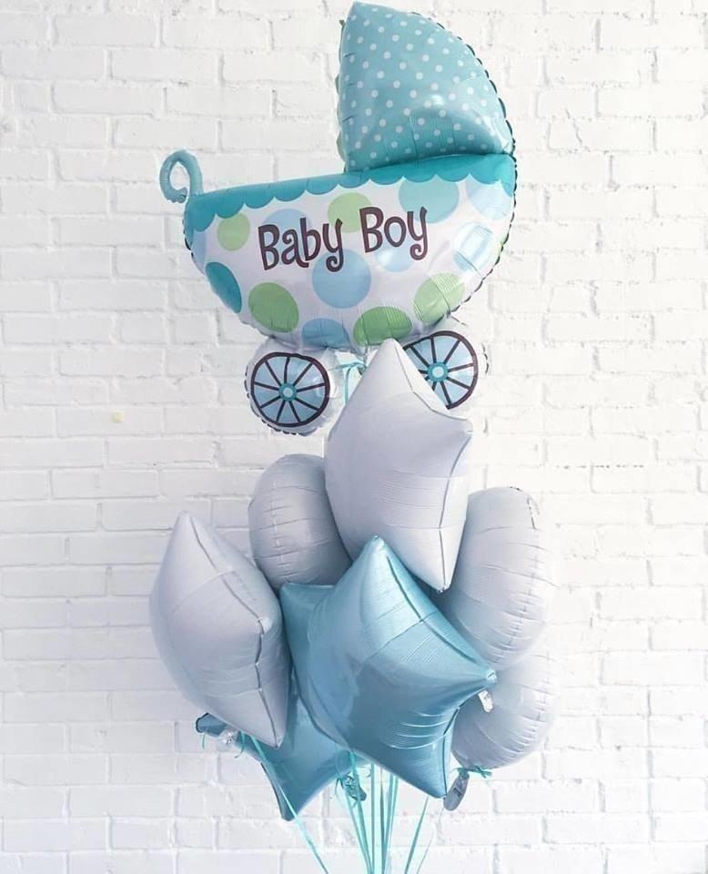 Букет из шаров «Baby boy»
