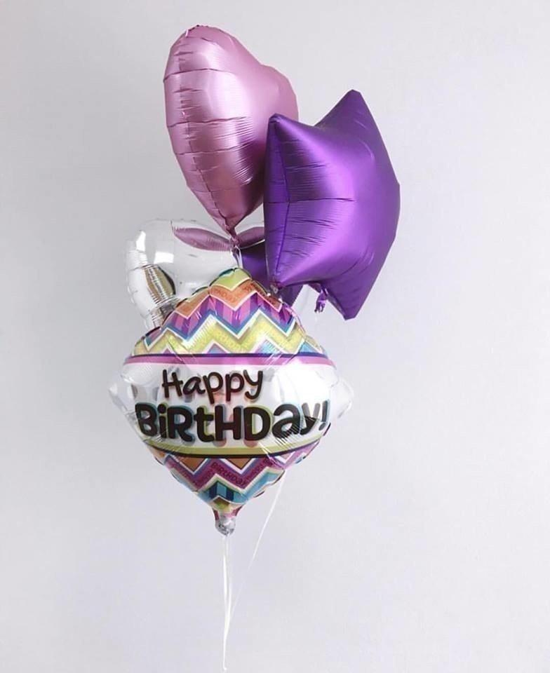 Букет из шаров «Фиолетовое настроение»