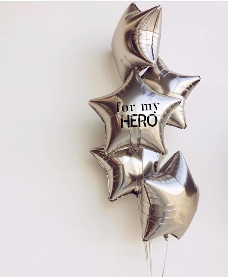Букет из шаров «Мой герой»