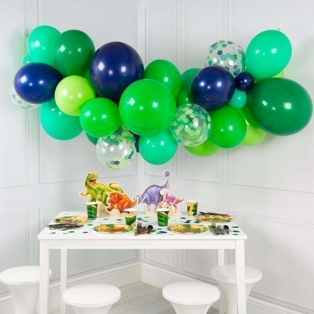 Гирлянда из шаров «Зеленый динозавр»