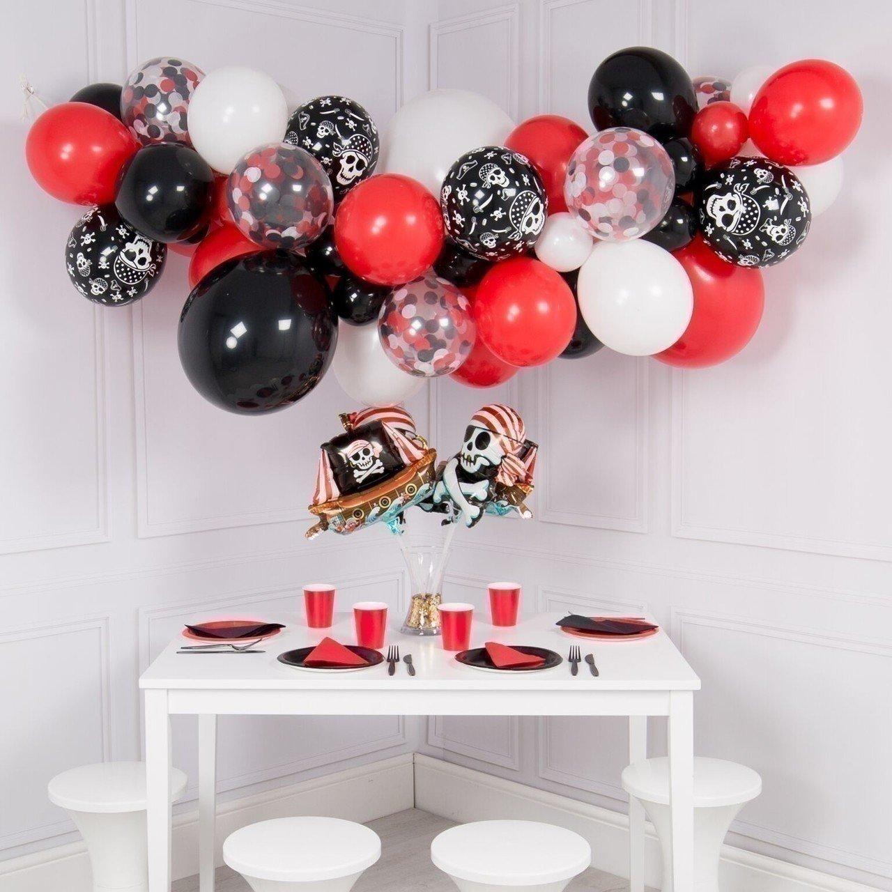 Гирлянда из шаров «Пиратская вечеринка»