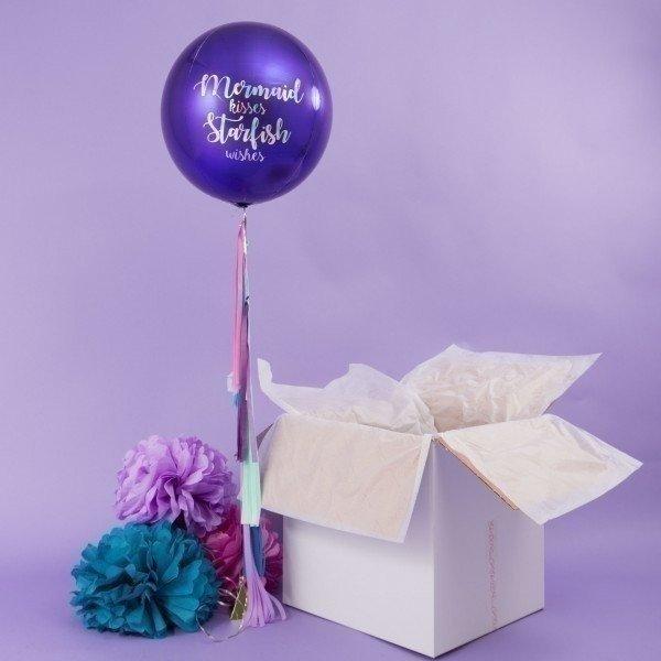 Коробка с шарами «Русалочка»