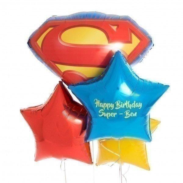 Букет из шаров «Супергеройский день»