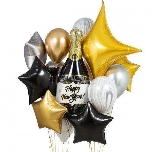 Букет из шаров «Новогоднее настроение»