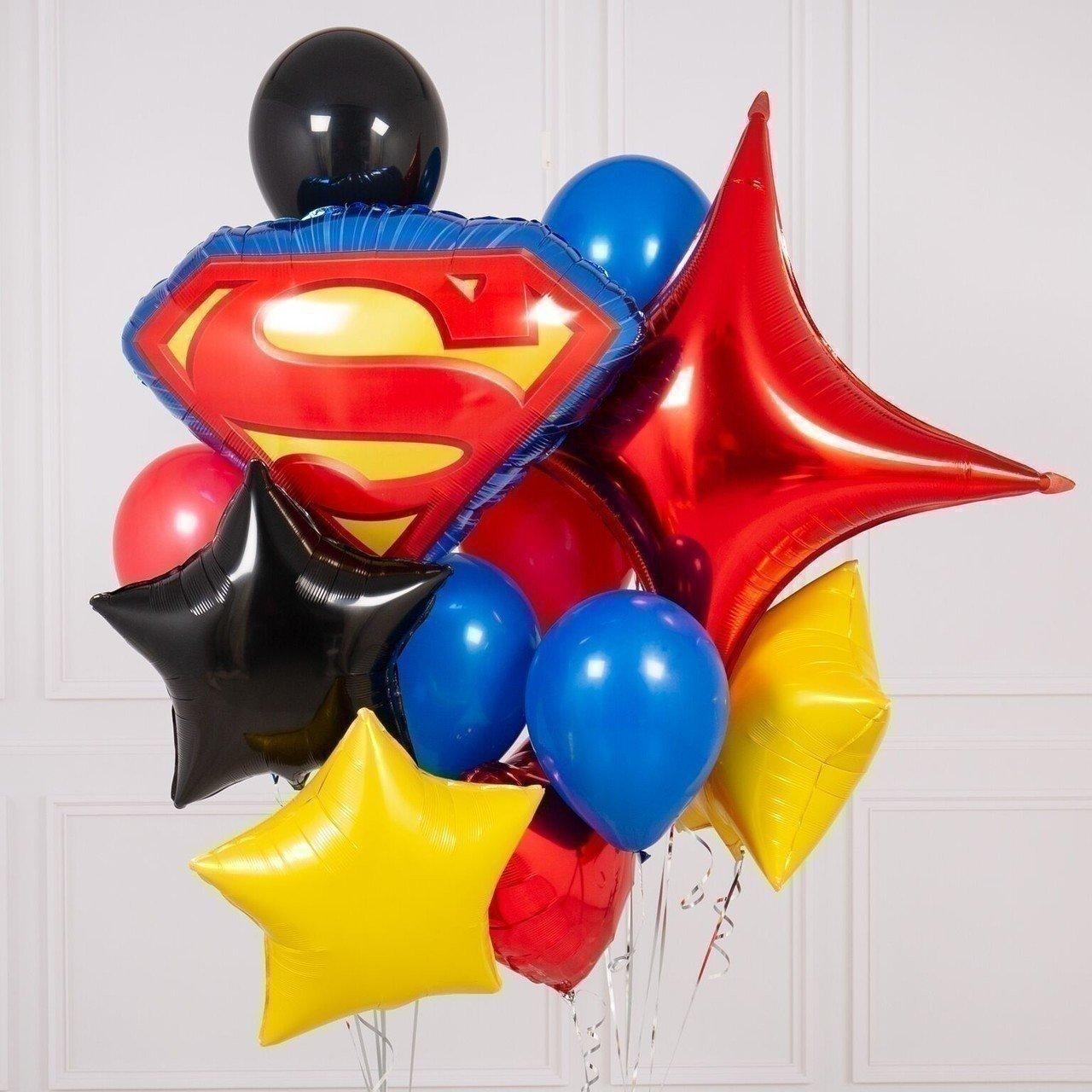 Букет из шаров «Набор для супергероя»