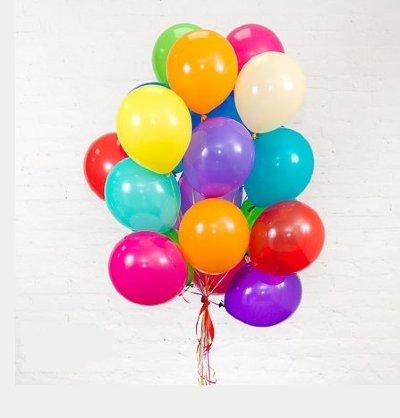 Облако шариков Ассорти большие 25 шт