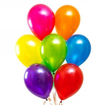 Облако шариков Ассорти металлик стандартные 25 шт