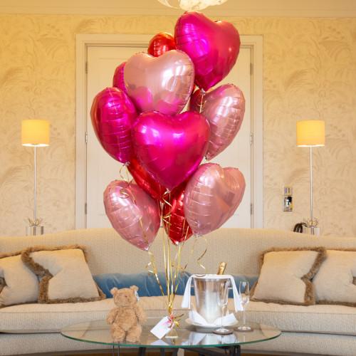Букет из шаров для любимой девушке