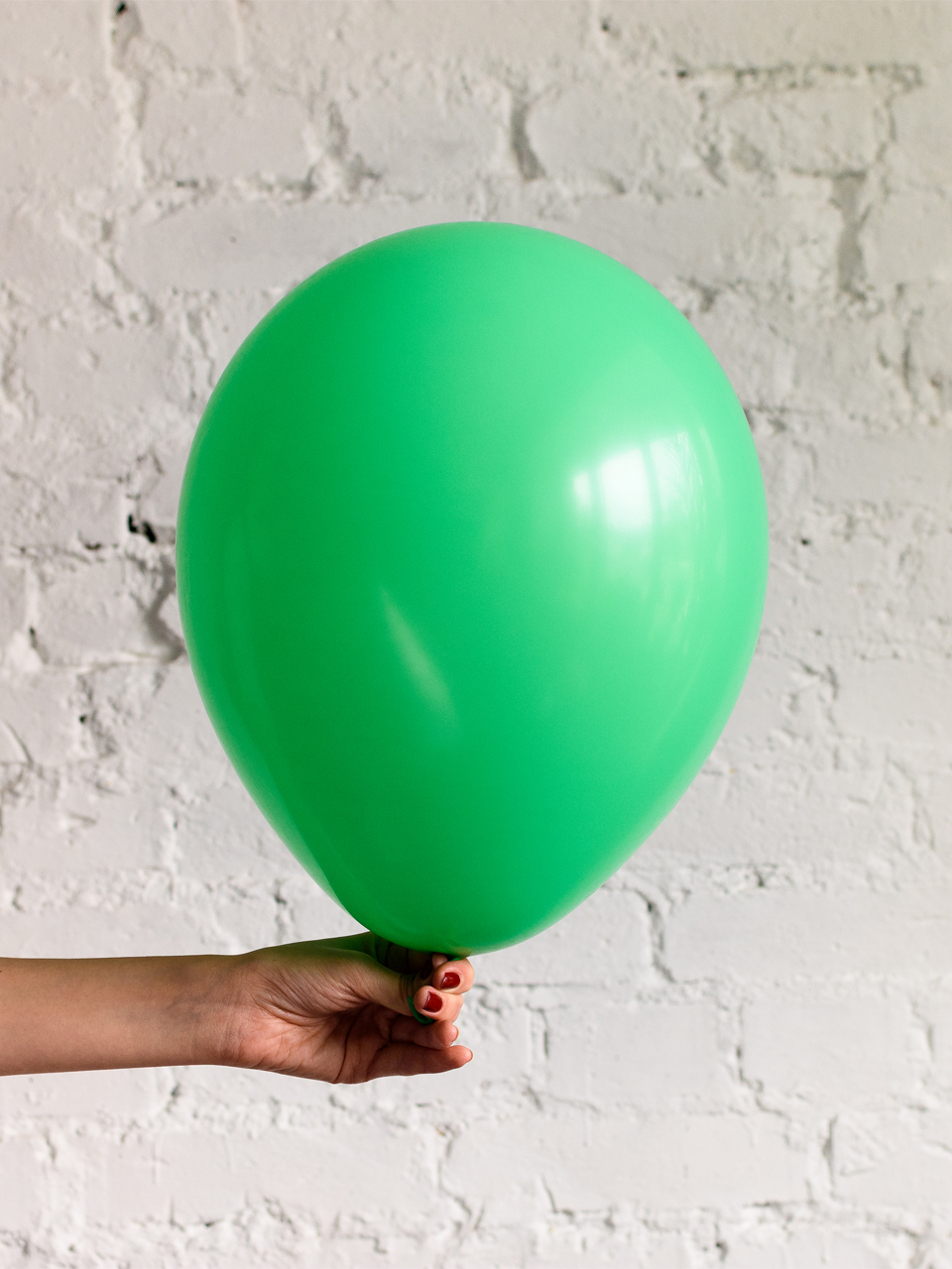 Шар зелёный пастель