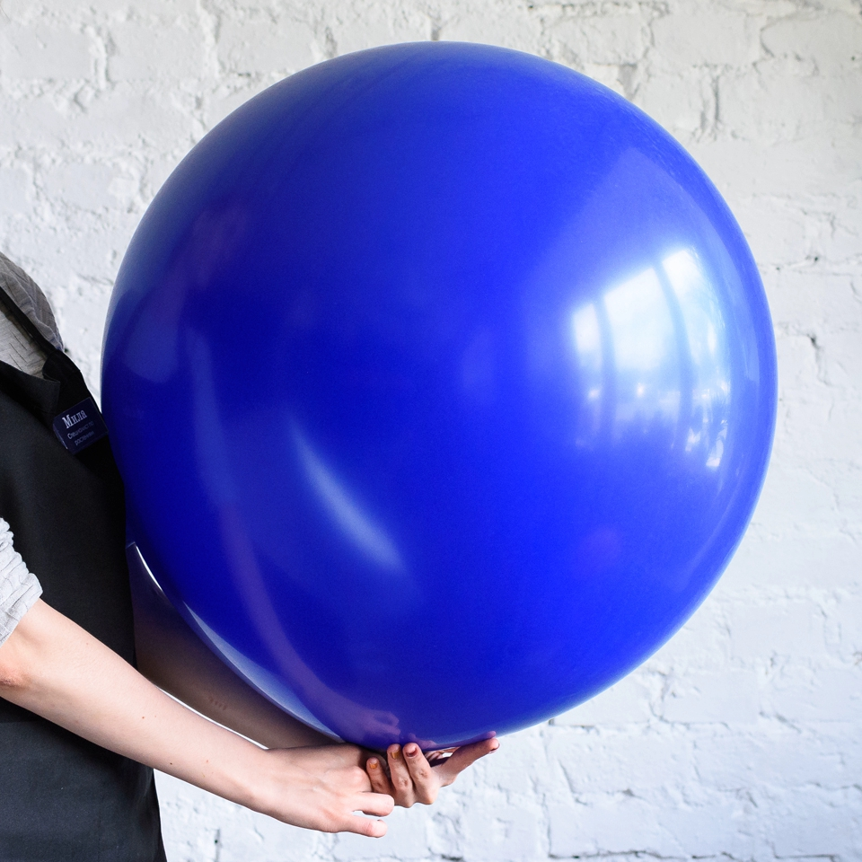 Большой шар тёмно-синий