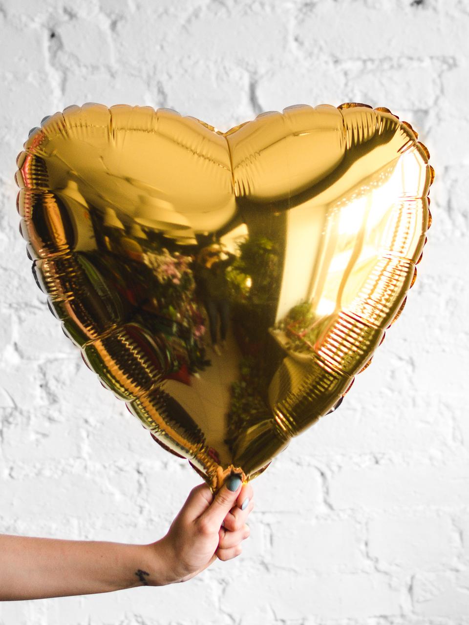Шар сердце 18