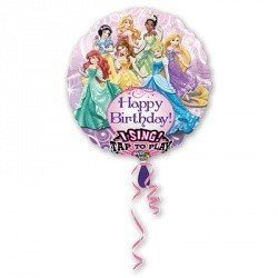 Музыкальный шар Принцессы