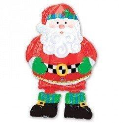 Ходячий шар Санта Клаус