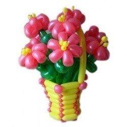 Корзина цветов 1