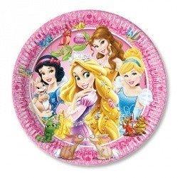 Тарелки Принцессы и зверушки десерт,16см