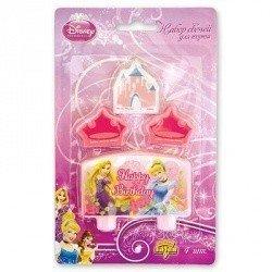 Свечи для торта Disney HB Принцессы,4шт
