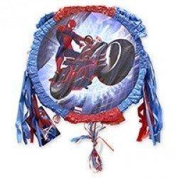 Пиньята Человек паук на мотоцикле