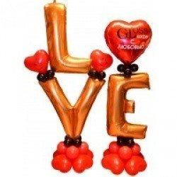 Композиция LOVE с индивидуальной