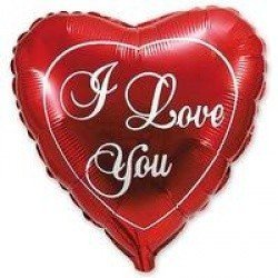 ILY Красное сердце