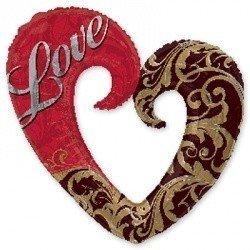 ILY Сердце Дамасск